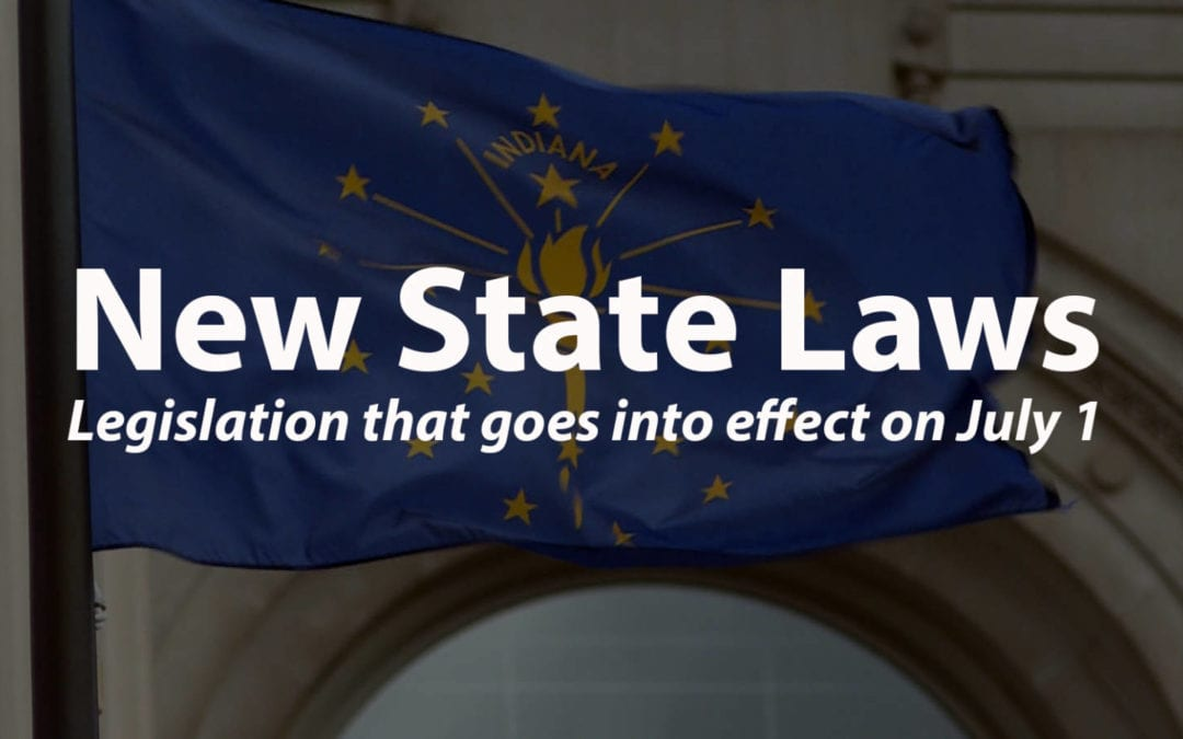 New Laws in Indiana!